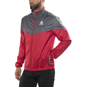 Odlo God Jul Jacket Men jester red/ombre blue